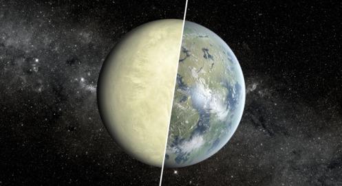 Super Venus Planet